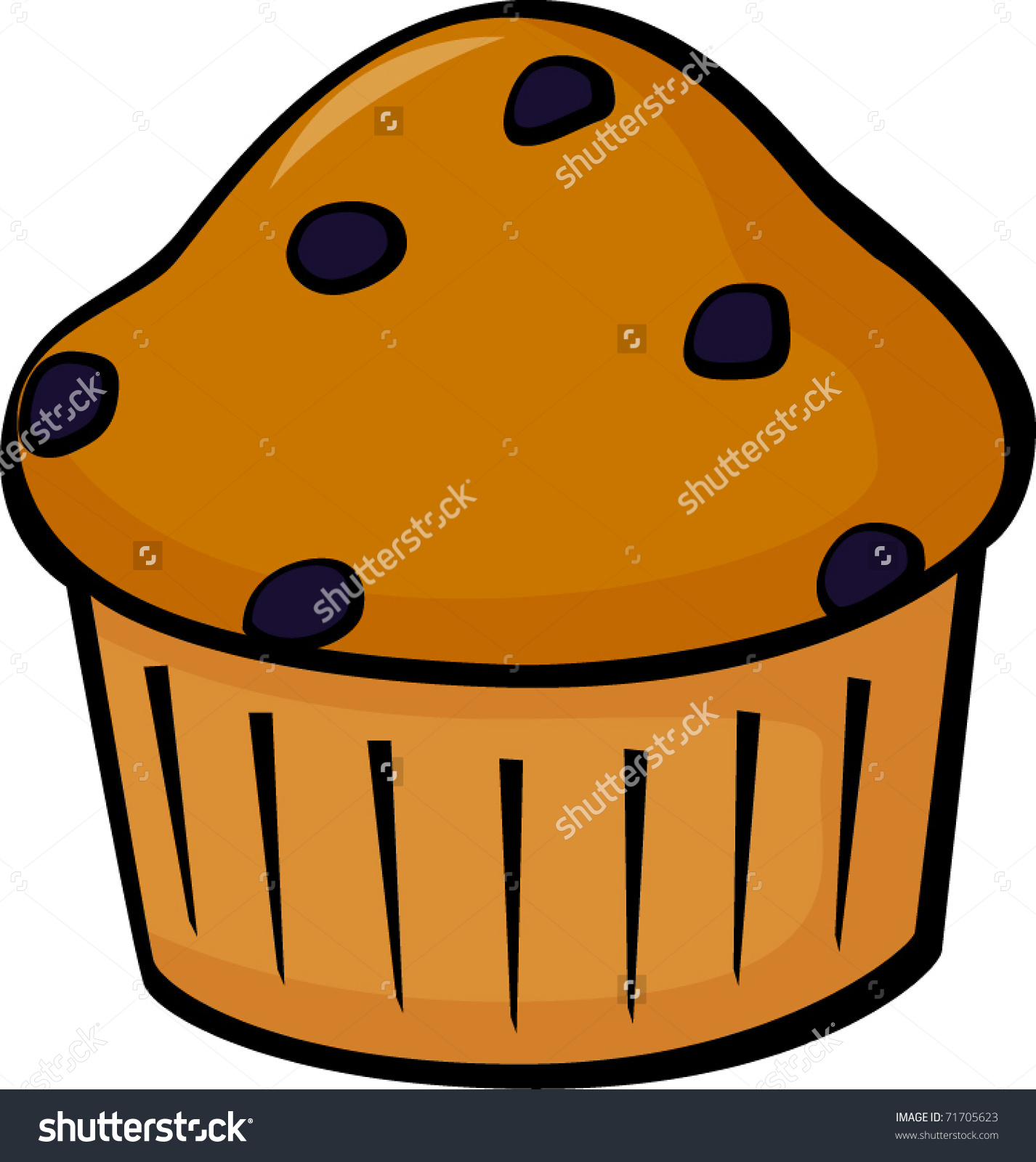 1426x1600 Blueberry Muffin Clipart One Blueberry