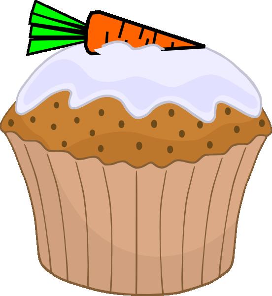 552x601 Carrot Cake Muffin Clip Art