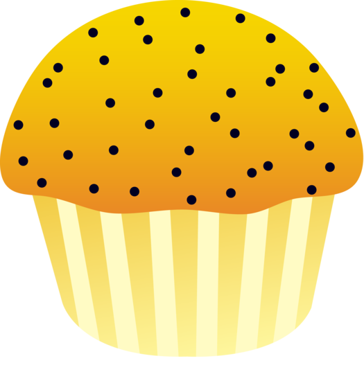 525x550 Lemon Poppy Seed Muffin