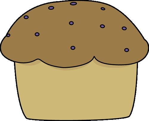 500x407 Muffin Clip Art