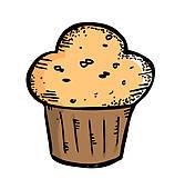 167x170 Muffin Clip Art