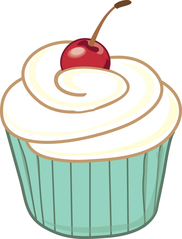 610x800 Muffin Clipart Fancy Cupcake