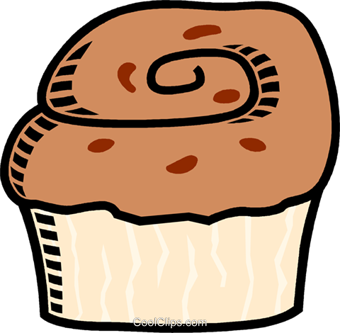 480x470 Muffin Royalty Free Vector Clip Art Illustration Vc009520