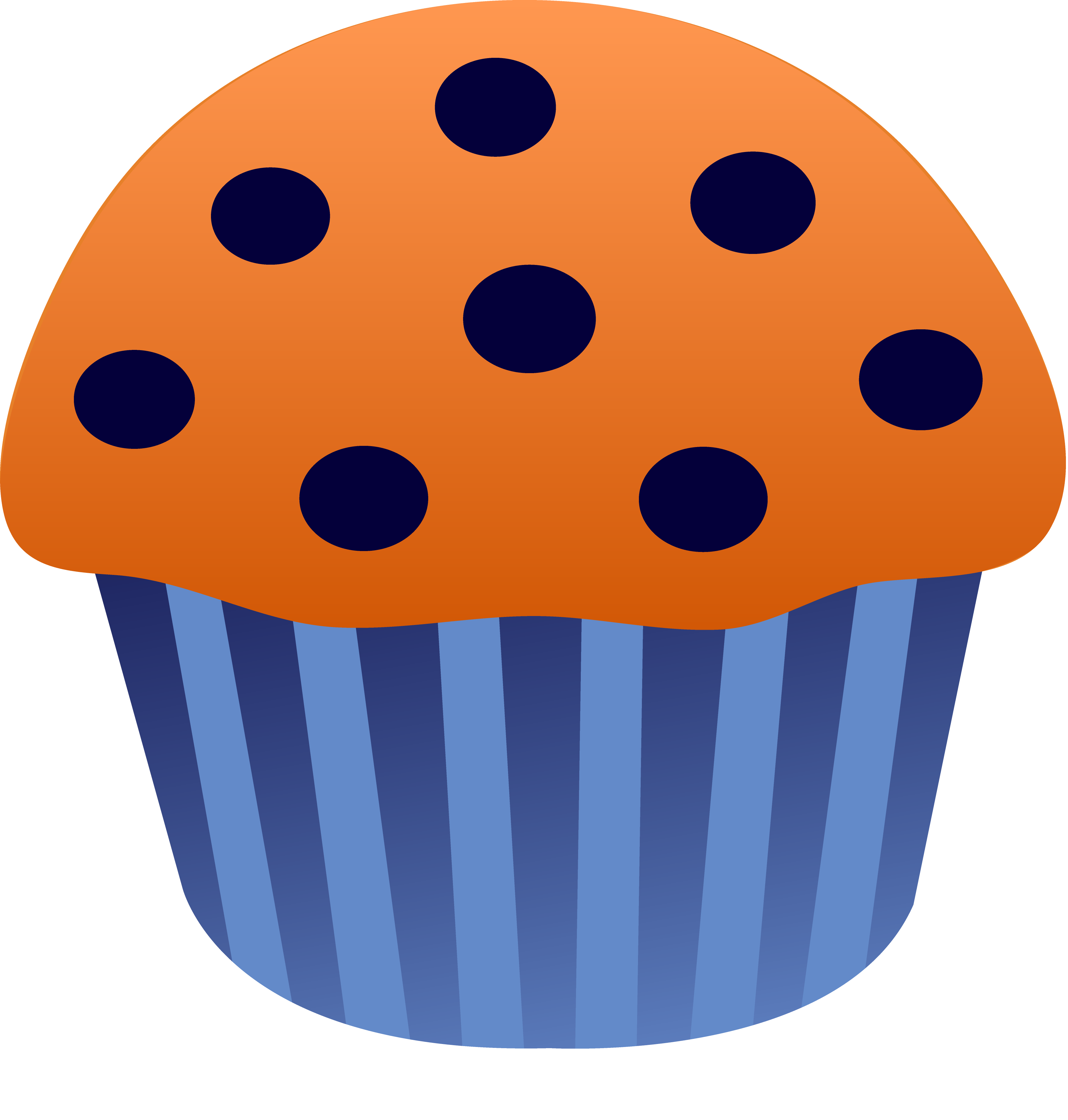 3584x3758 Blueberry Muffin Vector