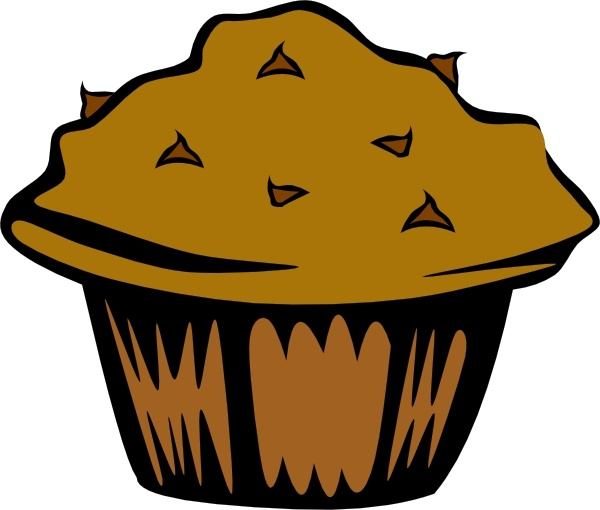 600x510 Double Chocolate Muffin Clip Art Free Vector In Open Office