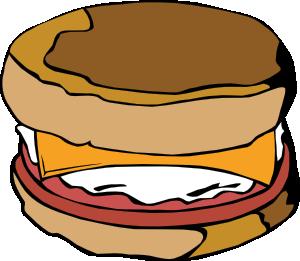 300x261 Egg On Muffin Clip Art