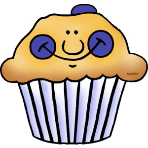 300x300 Blueberry Clipart Blueberry Muffin