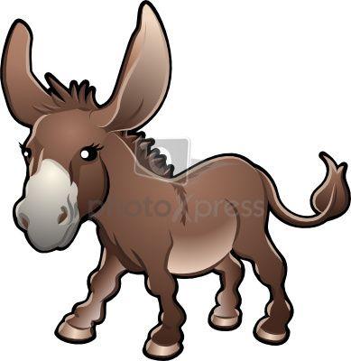 389x400 Mule Clip Art
