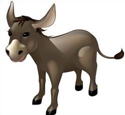 249x230 Free Mule Clipart