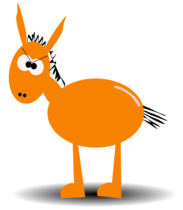 261x300 Mule Clipart
