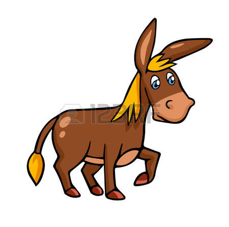 450x446 Mule Clipart Funny