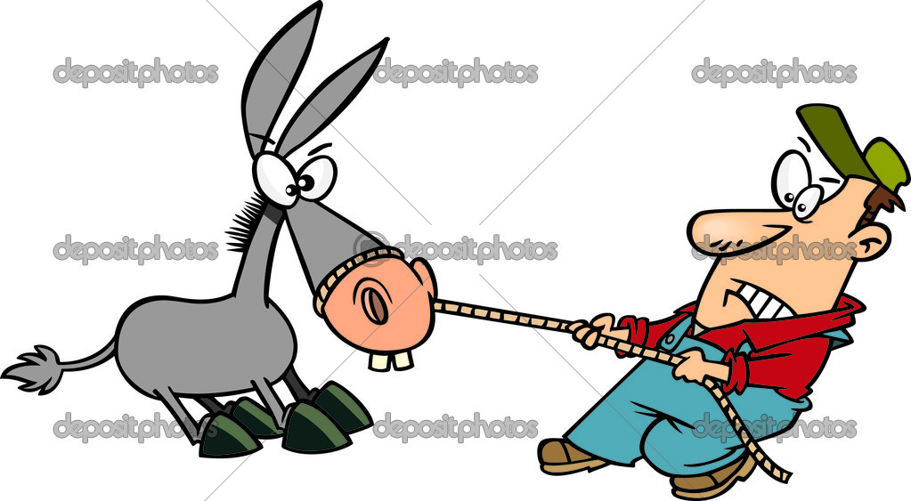 1023x563 Man On Mule Boy Walking Clipart