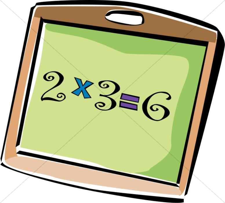 776x699 School Multiplication Chalkboard Christian Classroom Clipart