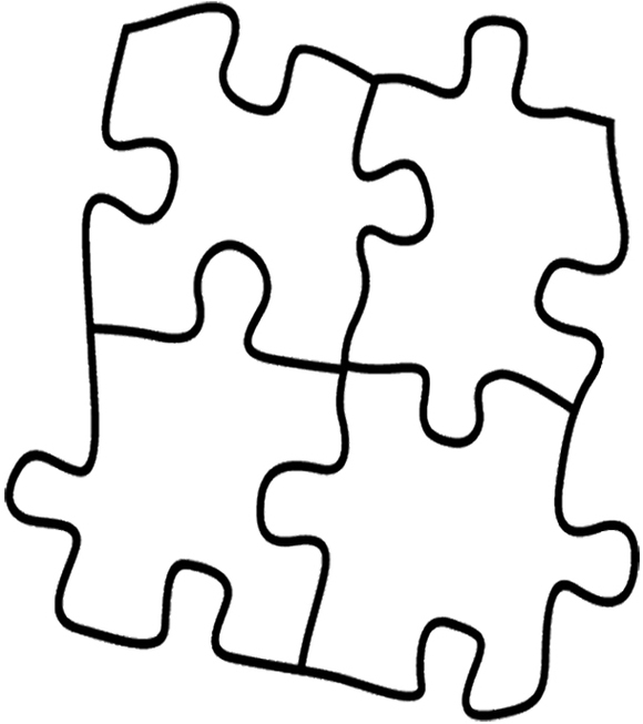 580x653 Coloring Pages Puzzle Coloring Page Clipart 15 Pages Puzzle