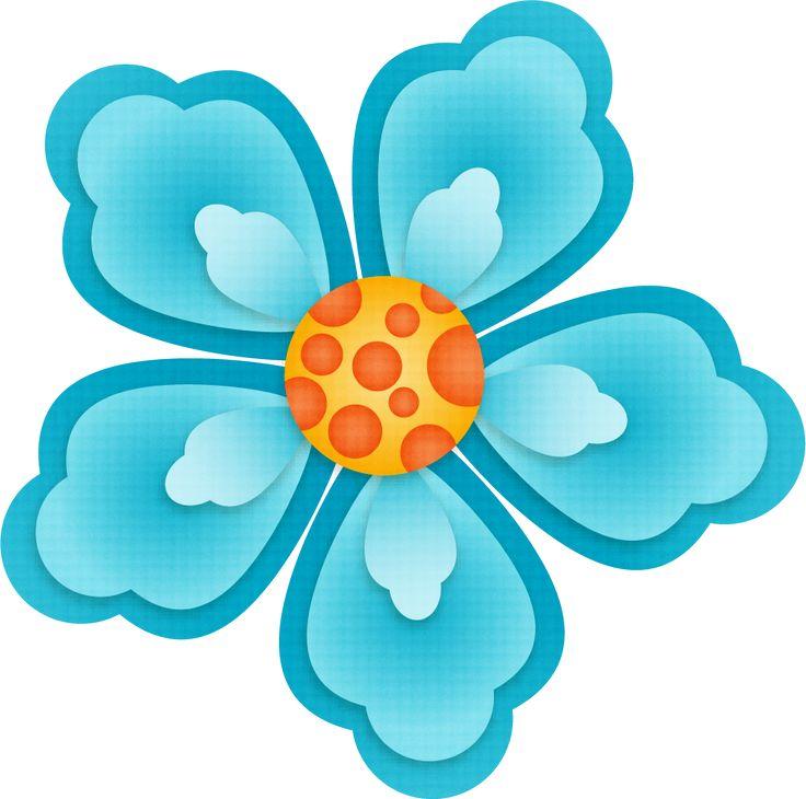 736x730 Graphics For Aqua Flower Graphics