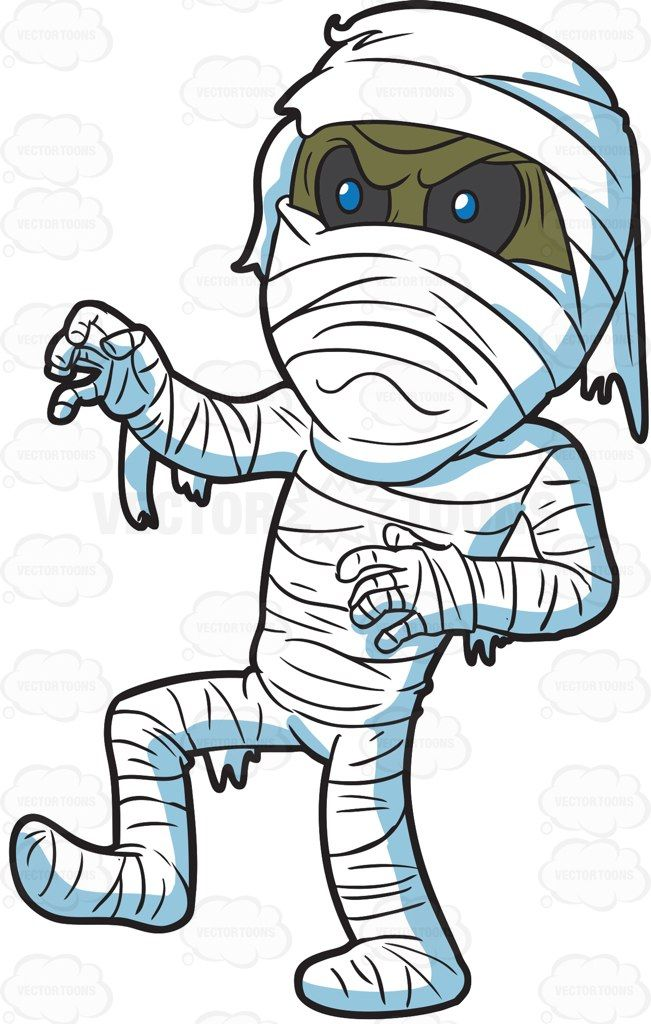 Mummy Cartoon Images Clipart