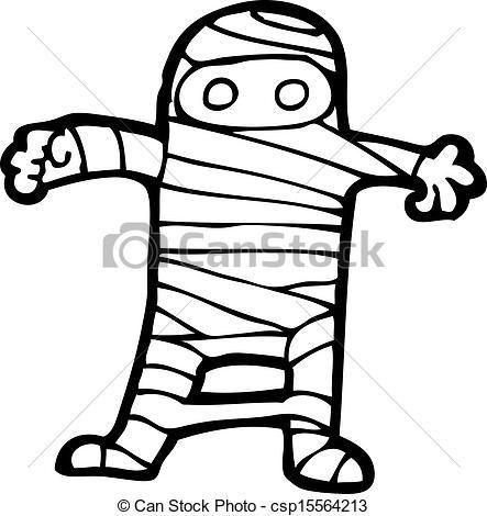 443x470 Luxury Mummy Clip Art Vector Clip Art Of Cartoon Halloween Mummy