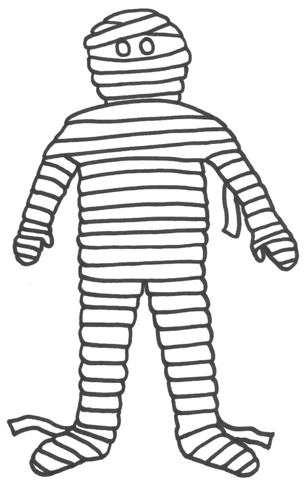 600x947 Appealing Mummy Coloring Page 21 For Coloring Pages Online