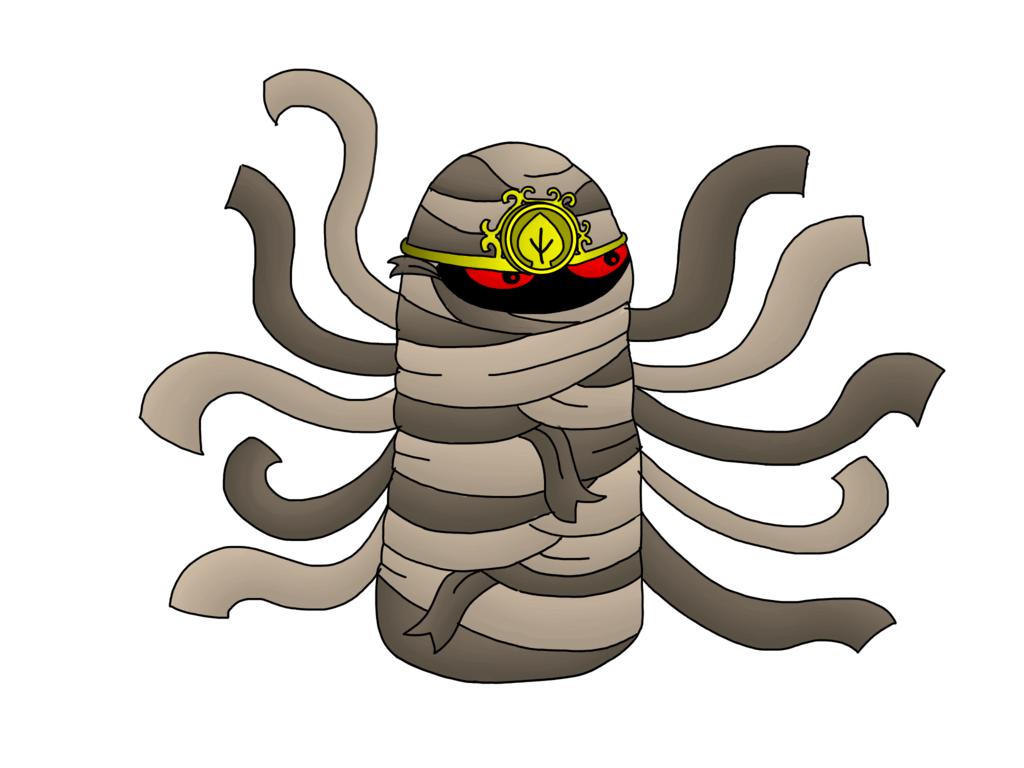 1024x768 Mummy Nut (First Aid Nut In Pvz 1) Pvz Heroes By Lightstar345