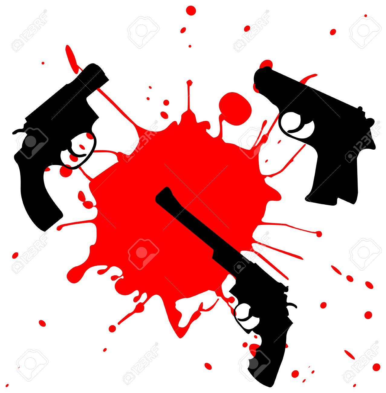 1277x1300 Murder Clipart