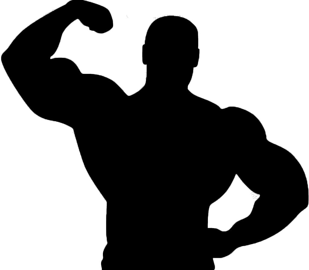 1024x896 Strong Body Muscle Man Clipart