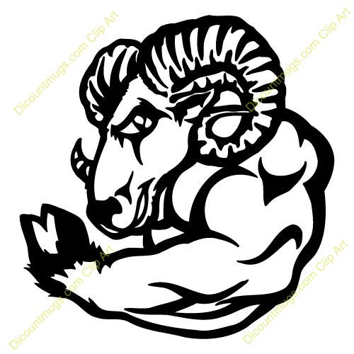 500x500 Top 74 Ram Clip Art