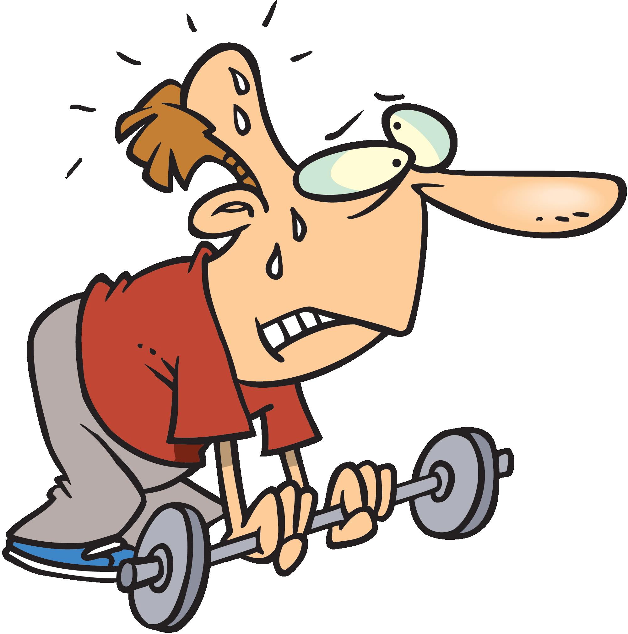 2000x2018 Muscle Cartoon Clipart