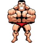 140x140 Muscle Man Clip Art