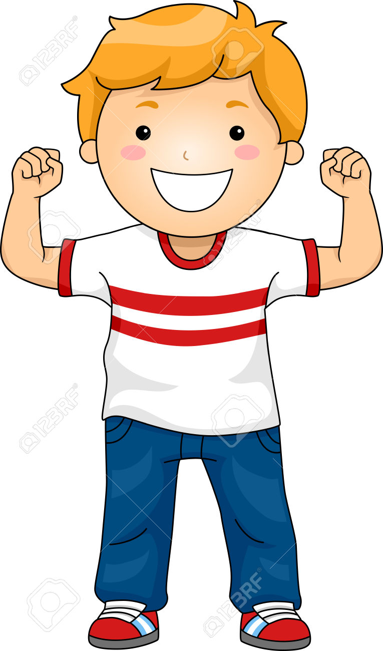 765x1300 Showing Muscles Clipart