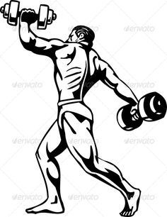 236x306 Muscular Man Posing Muscular Men, Font Logo And Fonts