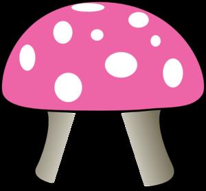 300x279 Mushroom Clip Art