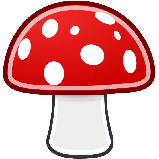555x555 Mushroom Free To Use Clip Art