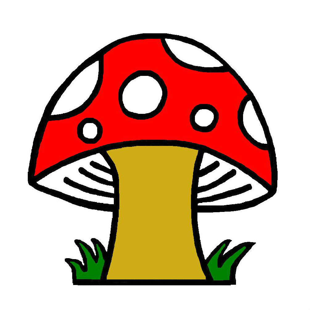 1005x1005 Mushrooms Clipart Free Download Clip Art On 3 Clipartbarn