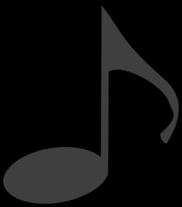 261x297 Music Note Clip Art