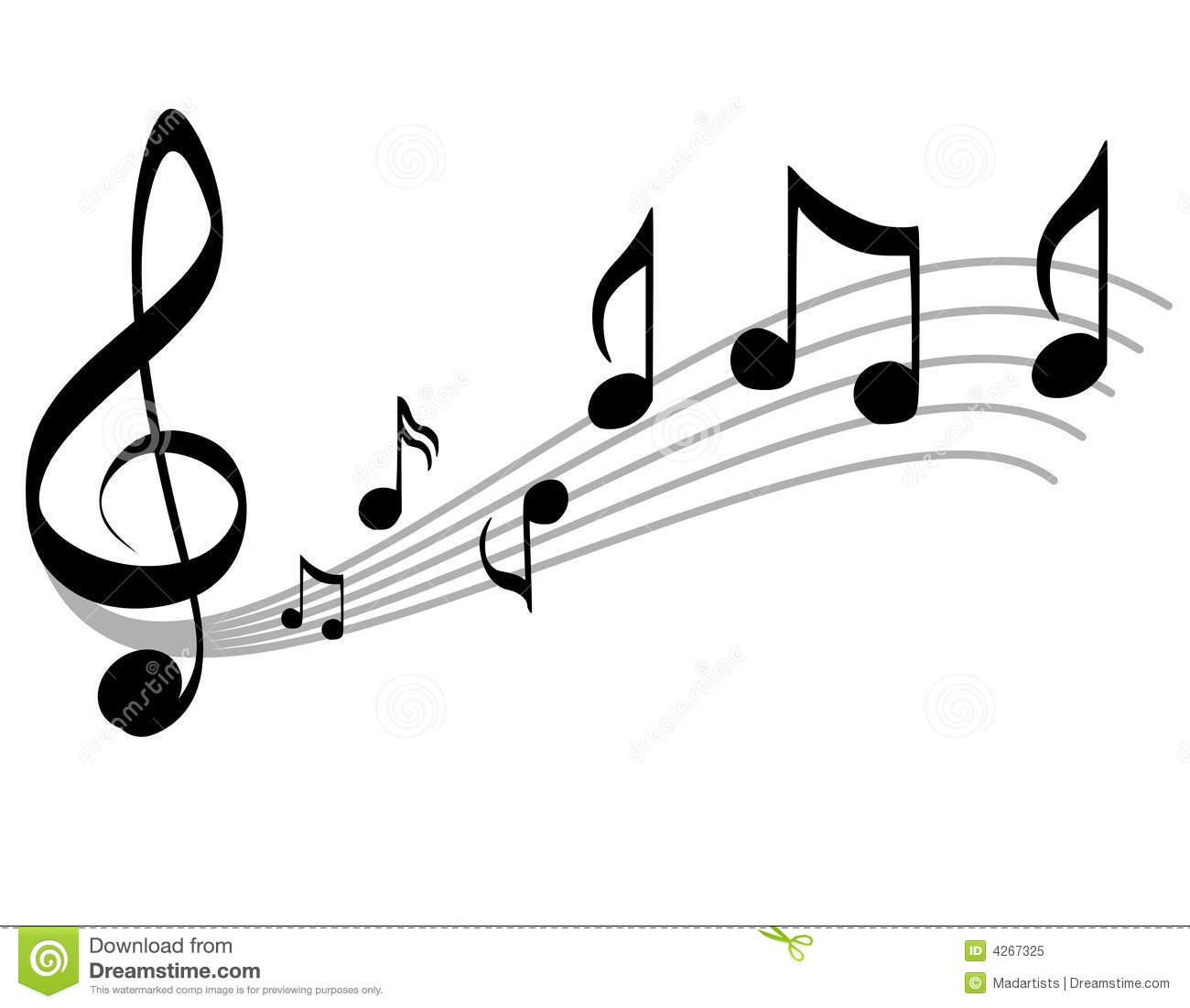 1300x1101 Music Notes No Background Clipart