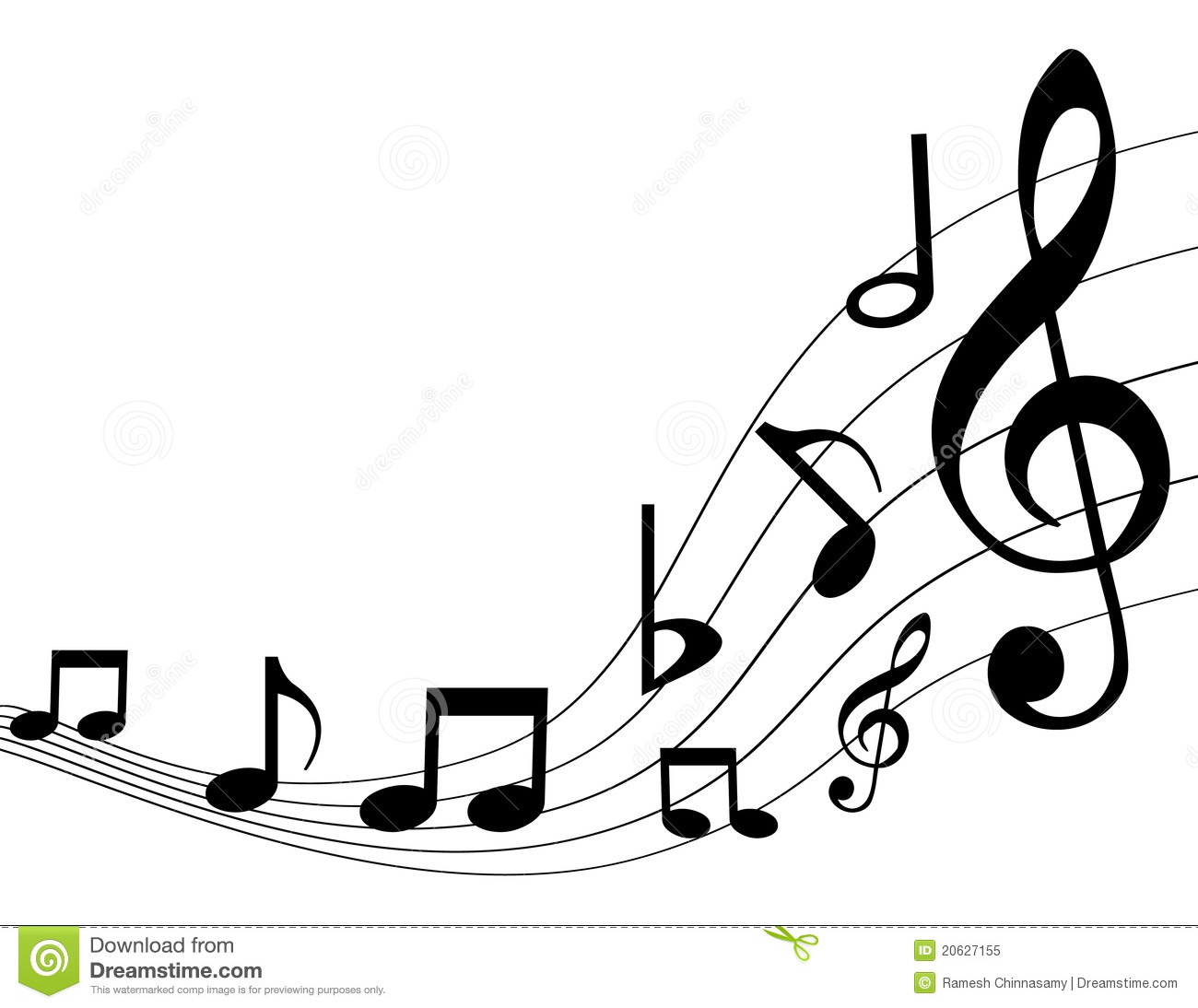 1300x1094 Music Notes Clipart Decorative