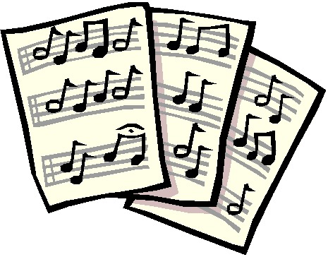 465x364 Music Note Musical Notes Background Clipart