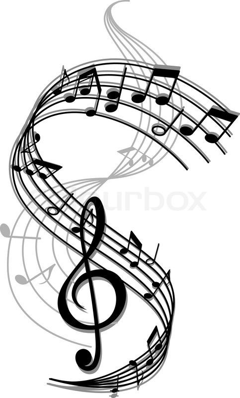 483x800 Best Music Notes Background Ideas Tattoo Song