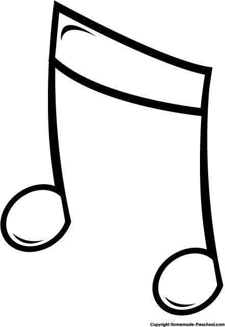 441x639 Free Music Notes Clipart 2