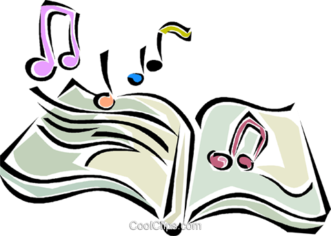 480x343 Music Book Royalty Free Vector Clip Art Illustration Vc011326
