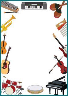 236x333 Free Music Borders Clip Art Grunge Music Frame By X Nerd