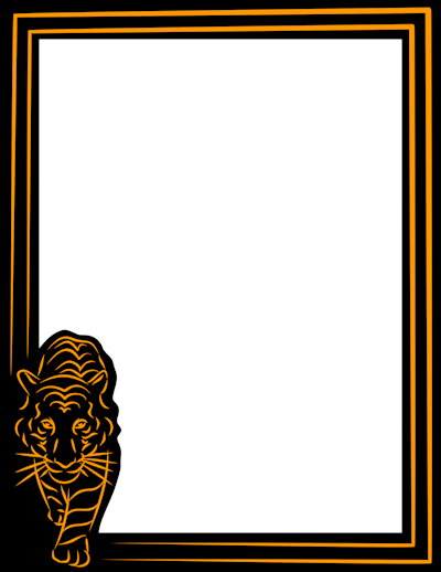400x518 Holiday Borders, Music Borders, And More Page Borders