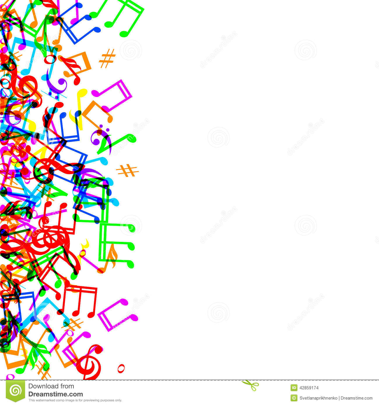 1300x1390 Music Borders And Frames Clipart
