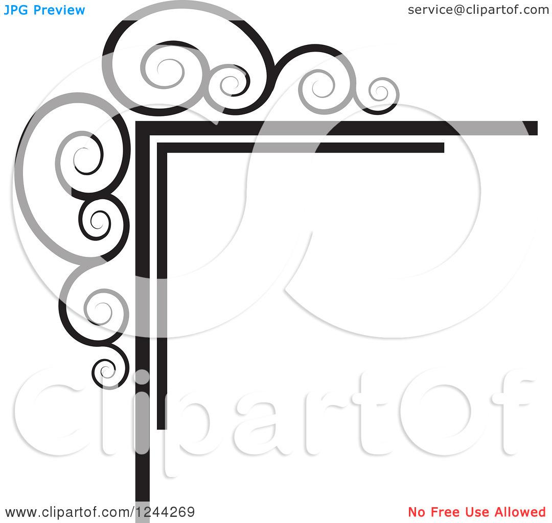 1080x1024 Music Clipart Swirls
