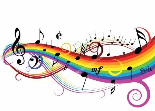 500x359 Musical Borders Music Border Clipart