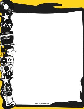 281x364 The Best Music Border Ideas Clip Art Microsoft