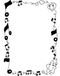 200x252 Music Notes Clip Art Borders Music Note Borders Free Clip Art