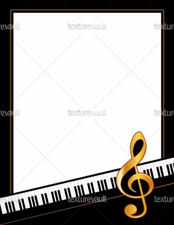 340x440 Music Entertainment Poster Frame