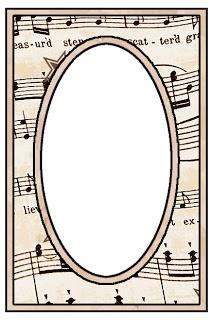 213x320 Sheet Music Clipart Music Frame