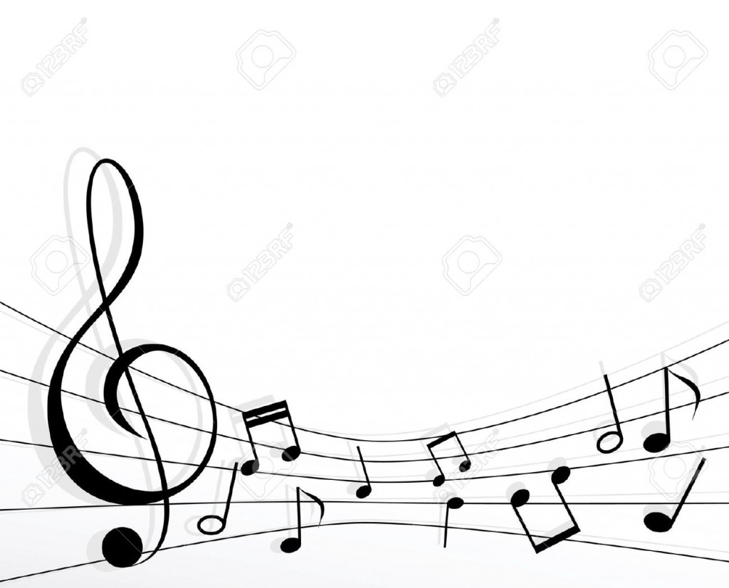 1024x827 Music Note Border